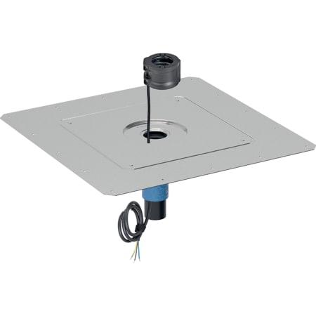 Sombrerete Geberit Pluvia con protección contra incendios y calefacción 230 V/8 W, d56
