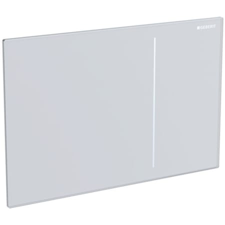 Geberit flush plate Sigma70, for dual flush, for Sigma concealed cistern 12 cm