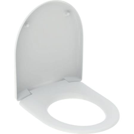 Geberit Renova wc-zitting bevestiging van onderen
