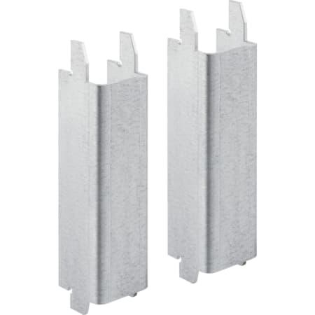 Juego de soportes Geberit para inodoros cerámicos con superficie de apoyo reducida