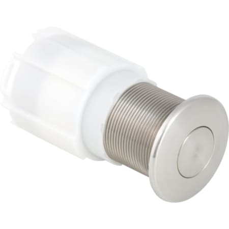 Sistema de descarga Geberit para inodoros con accionamiento de descarga neumático, descarga simple, fijado con contratuerca, para mueble