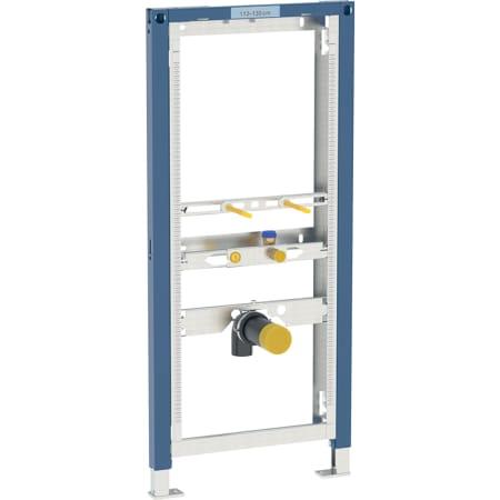 Bastidor Geberit Duofix para urinario, 112–130 cm, universal, para sistema de descarga visto