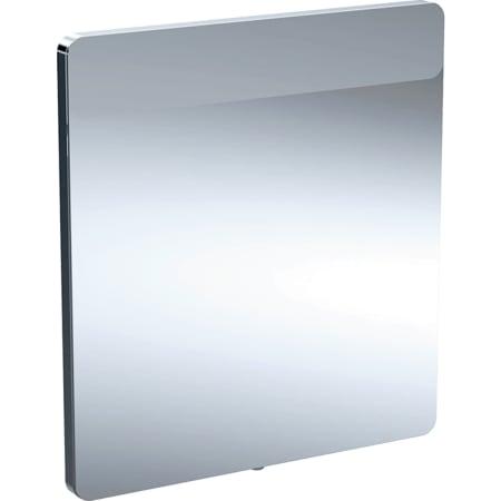 Specchio con luce Geberit Option, illuminazione in alto