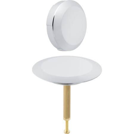 Kit de finition Geberit d52, pour vidage de baignoire avec actionnement rotatif