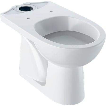 Geberit Selnova podna WC školjka za nazidni vodokotlić u monoblok izvedbi, vertikalni odvod