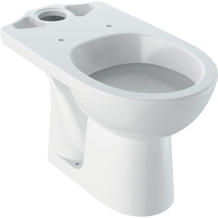 Geberit Selnova podna WC školjka za nazidni vodokotlić u monoblok izvedbi, horizontalni odvod
