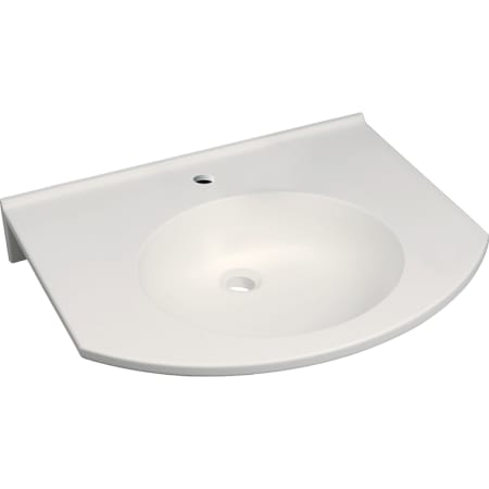"""Bild von Geberit Publica Waschtisch rundes Design, barrierefrei - Waschtische barrierefrei,Waschtische aus Mineralwerkstoff - """"GEBERIT"""""""