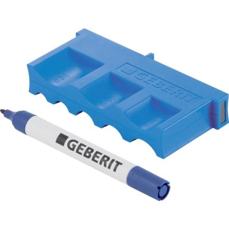 Matrice de profondeur d'emboîtement Geberit Mapress avec marqueur