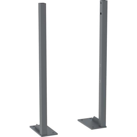 Conjunto de pés de apoio Geberit Duofix com pé grande, para altura de enchimento 0–20 cm
