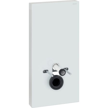 Geberit Monolith Plus sanitary module for wall-hung WC, 101 cm, front cladding made of glass