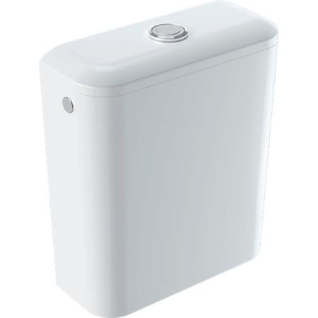 Geberit iCon Square nazidni vodokotlić monoblok, dvokoličinsko ispiranje, priključak vode bočno ili dolje