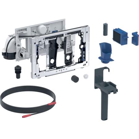 Geberit DuoFresh Modul mit manueller Auslösung und Einschub für Geberit DuoFresh Stick, für Sigma UP-Spülkasten 12 cm