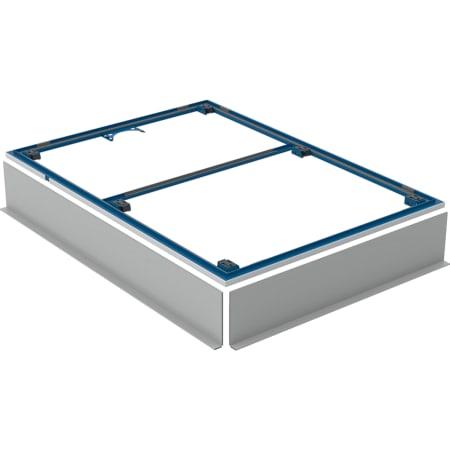 Geberit installatieframe voor douchevloer Setaplano, groter dan 100 cm, voor zes steunpoten