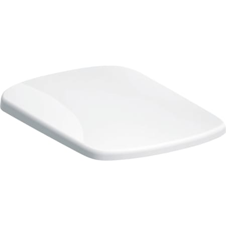 Geberit Selnova Square WC seat, fastening from above