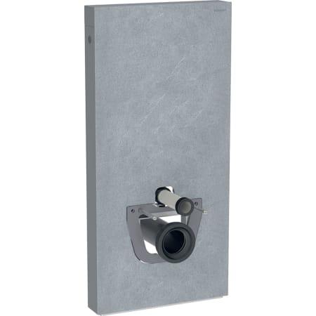 Module sanitaire Geberit Monolith Plus pour WC suspendu, 101 cm, habillage frontal en grès-céramique