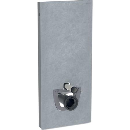 Panneau sanitaire Geberit Monolith Plus pour WC suspendu, 114 cm, habillage frontal en grès-céramique