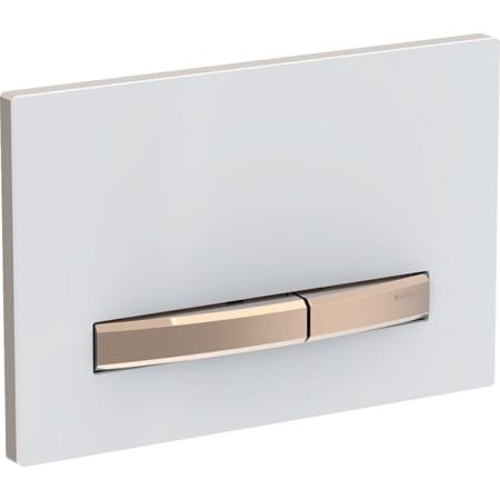 Przycisk uruchamiający Geberit Sigma50, do spłukiwania dwudzielnego, kolor metalu czerwone złoto