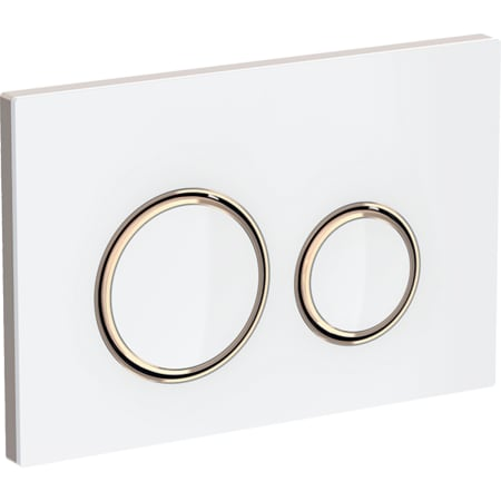 Przycisk uruchamiający Geberit Sigma21, do spłukiwania dwudzielnego, kolor metalu czerwone złoto