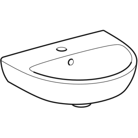 Geberit Selnova handrinse basin