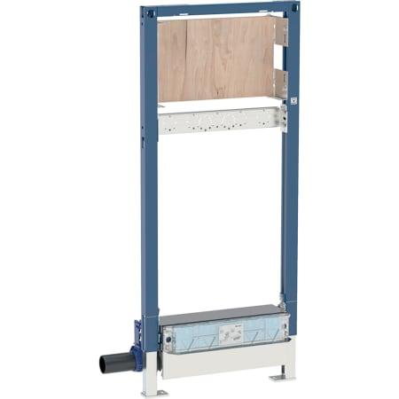 Geberit Duofix element voor douche, 130 cm, met douchewandgoot, voor dekvloerhoogte bij het afvoerpunt 65–90 mm