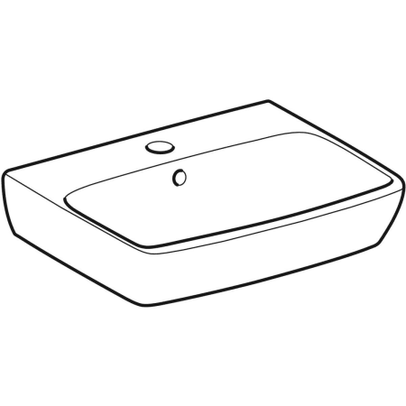 Geberit Selnova Square handrinse basin