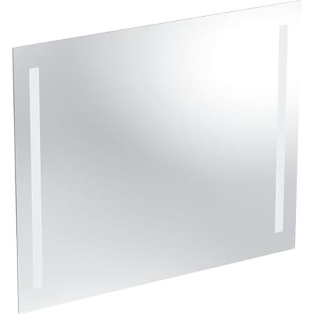 Specchio con luce Geberit Option Basic, illuminazione su entrambi i lati