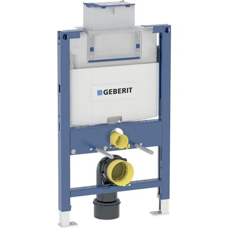 Bastidor Geberit Duofix para inodoro suspendido, 82 cm, con cisterna empotrada Omega 12 cm