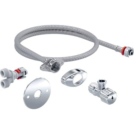 Kit de conexión de suministro para cisternas empotradas 12 cm, para asientos bidé Geberit AquaClean Tuma