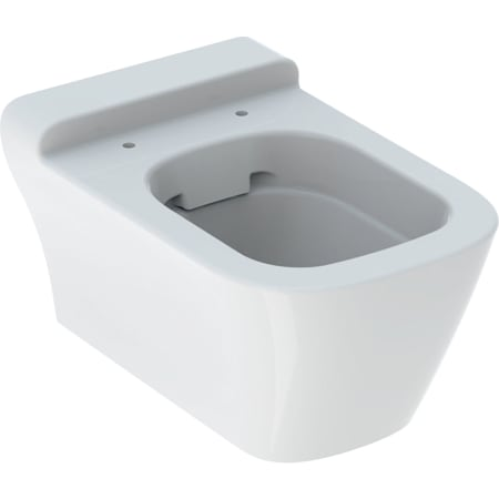 Geberit myDay wall-hung WC, washdown, shrouded, Rimfree