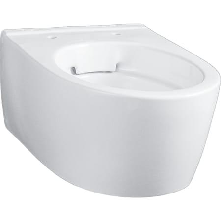 Geberit iCon konzolna WC šolja, smanjena dubina, skriveno kačenje, Rimfree
