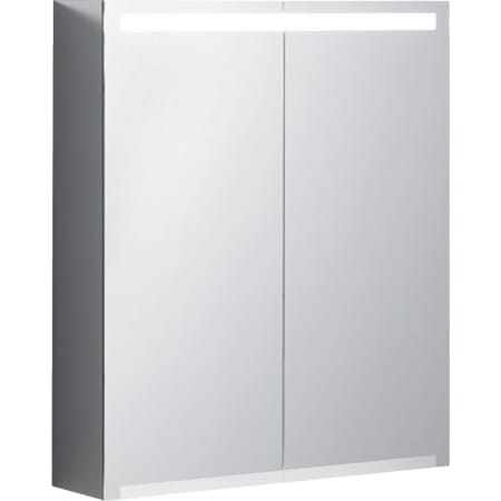 Mobile specchio Geberit Option con illuminazione e due ante
