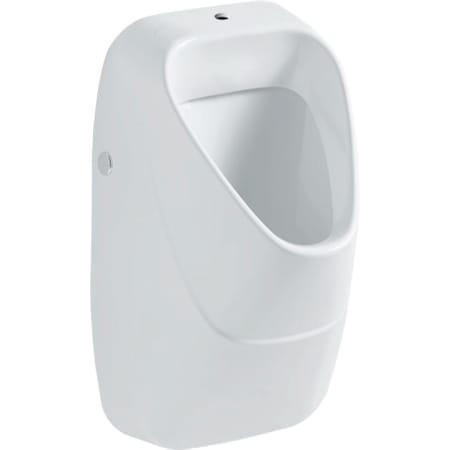 Geberit urinal Alivio, indløb oppefra, udløb bagved eller under