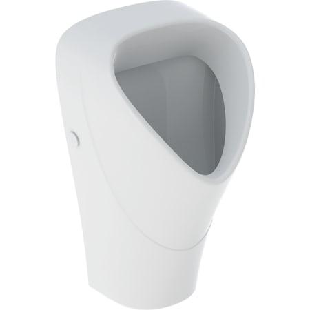 Geberit Renova urinal trigonal, indløb bagfra, udløb bagved eller forneden