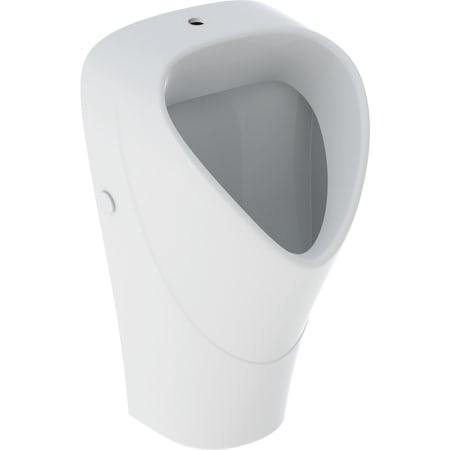 Geberit Renova Urinal trigonal, indløb oppefra, udløb bagved eller forneden