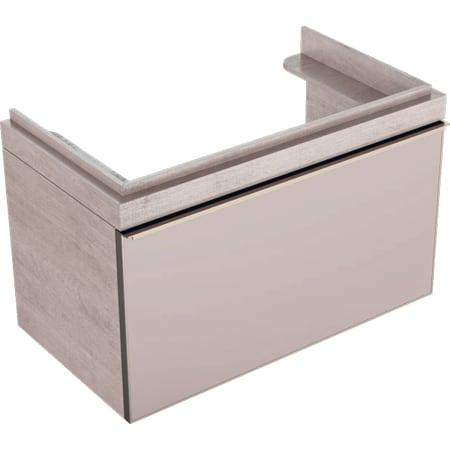 Szafka pod umywalkę Geberit Citterio, z jedną szufladą