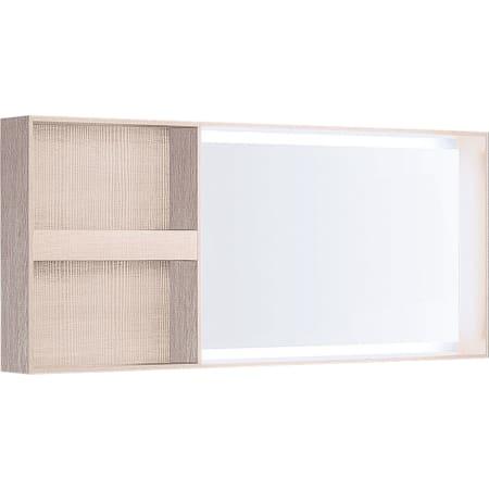 Podświetlane lustro Geberit Citterio z boczną półką