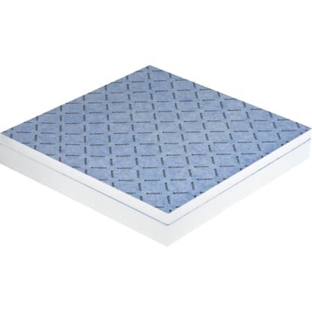Geberit gulvplade kan beklædes med fliser, med L-fald