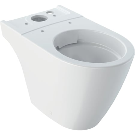 Geberit iCon podna WC šolja za predzidni vodokotlić za monoblok, WC šolja, skriveno kačenje, Rimfree
