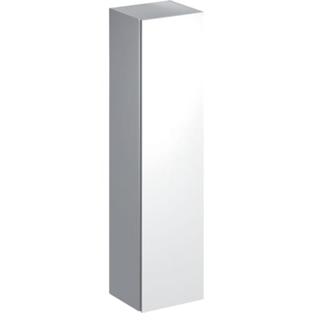 Geberit Xeno² højskab med en låge og indvendigt spejl