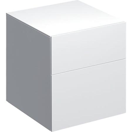 Geberit Xeno² -sivukaappi kahdella laatikolla