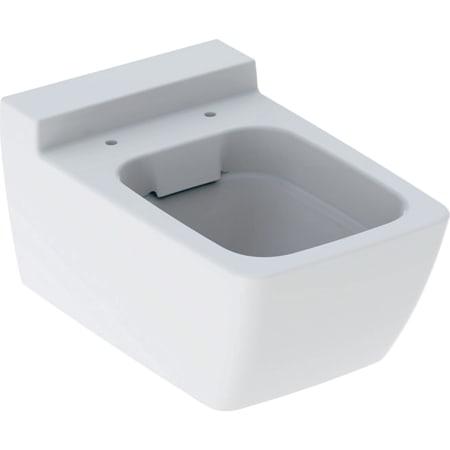 Wisząca miska WC Geberit Xeno², lejowa, ukryte mocowania, Rimfree