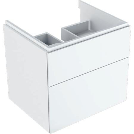 Geberit Xeno² underskab til håndvask, med to skuffer
