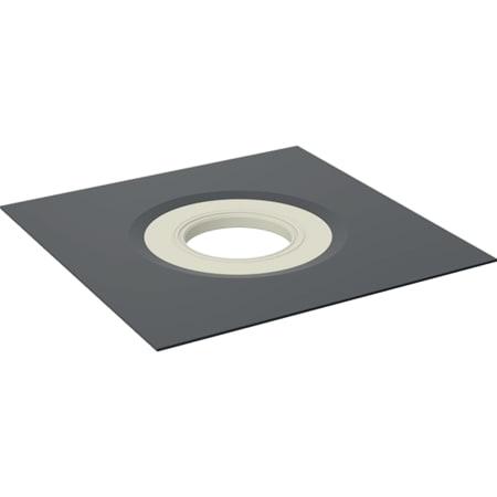 Lámina de impermeabilización Geberit Pluvia compatible con tela asfáltica