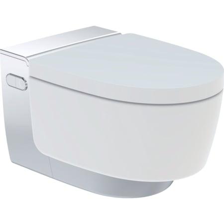 Geberit AquaClean Mera Comfort WC complete solution, wall-hung WC