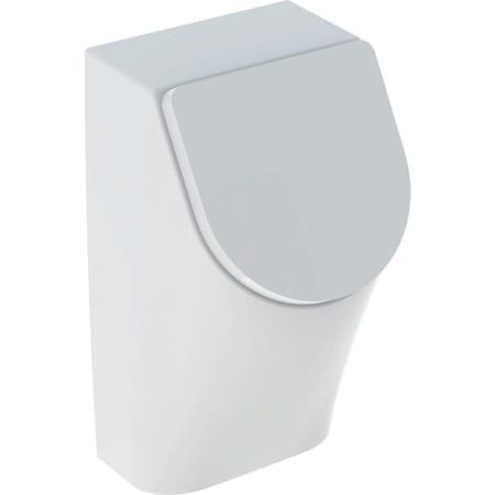 Geberit Renova Plan urinal med låg, indløb bagfra, udløb bagved