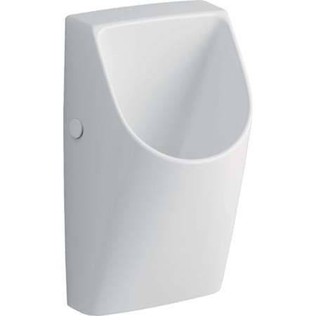 Geberit Renova Plan urinal uden vand, udløb bagved