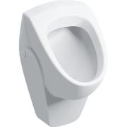 Geberit Renova urinal indløb bagfra, udløb bagved