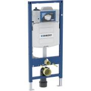Bâti-support pour WC suspendu Geberit, 120 cm, avec réservoir à encastrer Sigma 12 cm, pour rinçage forcé hygiénique à une alimentation en eau, sans interfaces