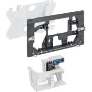 Geberit uređaj za ispiranje WC-a sa elektronskim aktiviranjem ispiranja, mrežno napajanje, dvokoličinsko ispiranje, za radio-taster