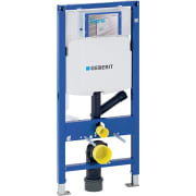 Bâti-support Geberit Duofix pour WC suspendu, 112 cm, avec réservoir à encastrer Sigma 12 cm, pour aspiration des odeurs avec extraction d'air